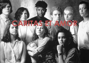 Caritas et amor centraal